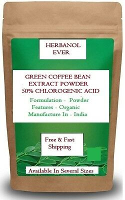 100 Pure Best Quality Green Coffee Bean Extract Powder 50