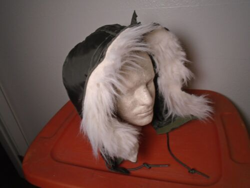 GENUINE USGI HOOD FLYERS COLD WEATHER ARAMID SAGE GREEN SIZE LARGE 1998 31P