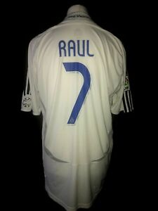 c049b3d7d Real Madrid 2006-07 Home Vintage Football Shirt  7 Raul - Excellent ...