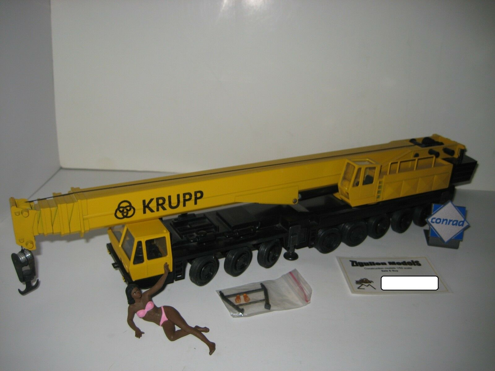 Krupp Gmt 250 Bil Crane gul35;2077.2 Conrad 1 50