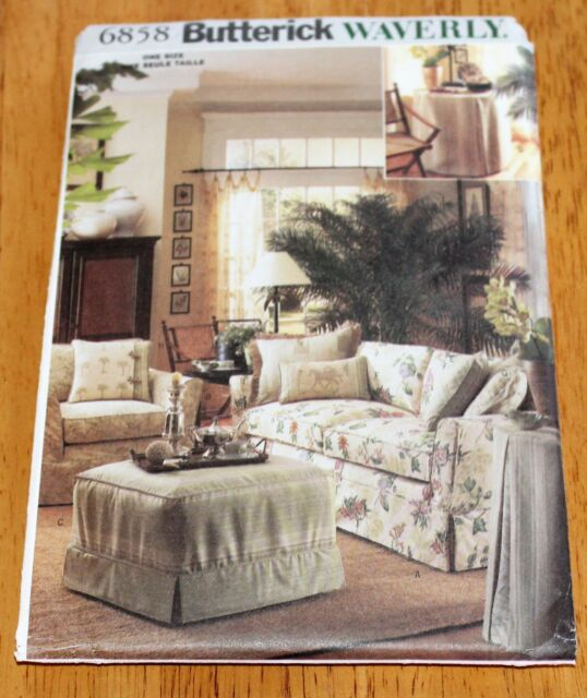 Erick Pattern 6858 Slipcovers By Waverly New Sofa Chairs Ottoman More