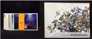 Overwatch-Collectors-Edition-Limited-Postcard-amp-Artbook-Set-GERMAN-EDITION