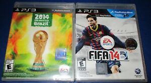 FIFA 14 + 2014 FIFA World Cup Brazil Playstation 3 -PS3-  New-Sealed ... 14ae68e25