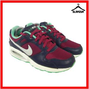 Nike-Damen-Air-Max-Coliseum-Racer-Leder-Turnschuhe-UK-6-40-lila-Sneakers