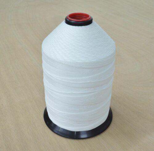 Bonded Nylon Lubed Sewing Machine ThreadBlack or WhiteVarious Thread Sizes