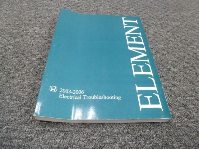 2006 Honda Element Electrical Wiring Diagrams Manual Lx Ex