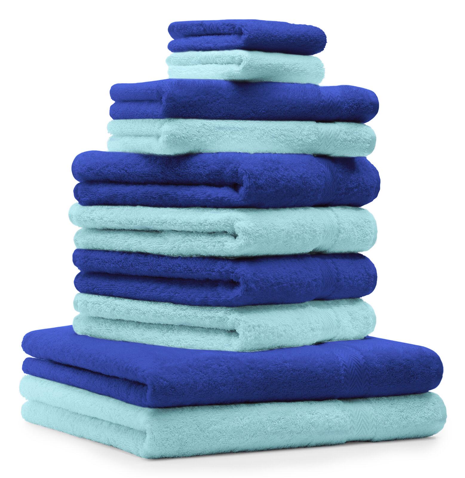 Betz 10tlg Handtuch Set CLASSIC Duschtuch Handtücher Gästetuch Seiftücher     | Clearance Sale