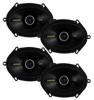4) Kicker 40cs684 6x8 450w 2 Way Car Coaxial Speakers Stereo Audio Cs684