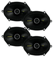 4) Kicker 40cs684 6x8 450w 2 Way Car Coaxial Speakers Stereo Audio Cs684
