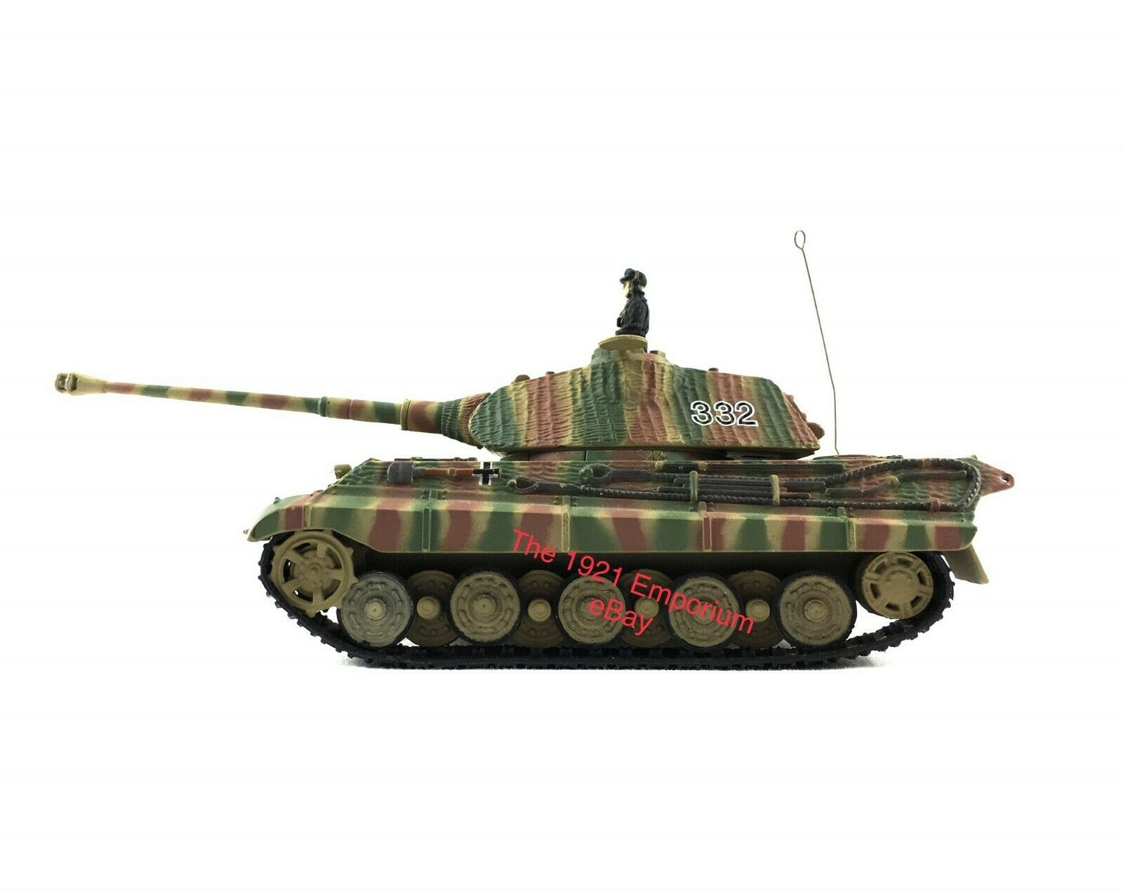 1 72 Diecast Unimax Toys Forces of Valor WWII German Army King Tiger Tank Panzer