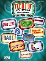 Teen Pop Broadway Collection Sheet Music Piano Vocal Guitar Songbook 002501597