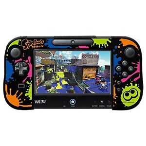 Details about Splatoon Silicon Cover Collection for Wii U Game Pad Type-B  Japan new