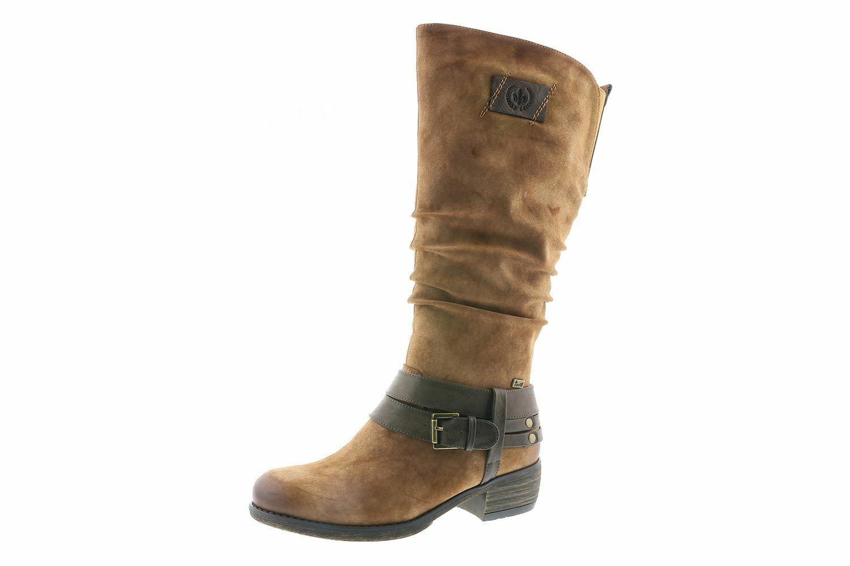 Rieker 93158-24 Schuhe Damen Stiefel Warmfutter Rieker-Tex