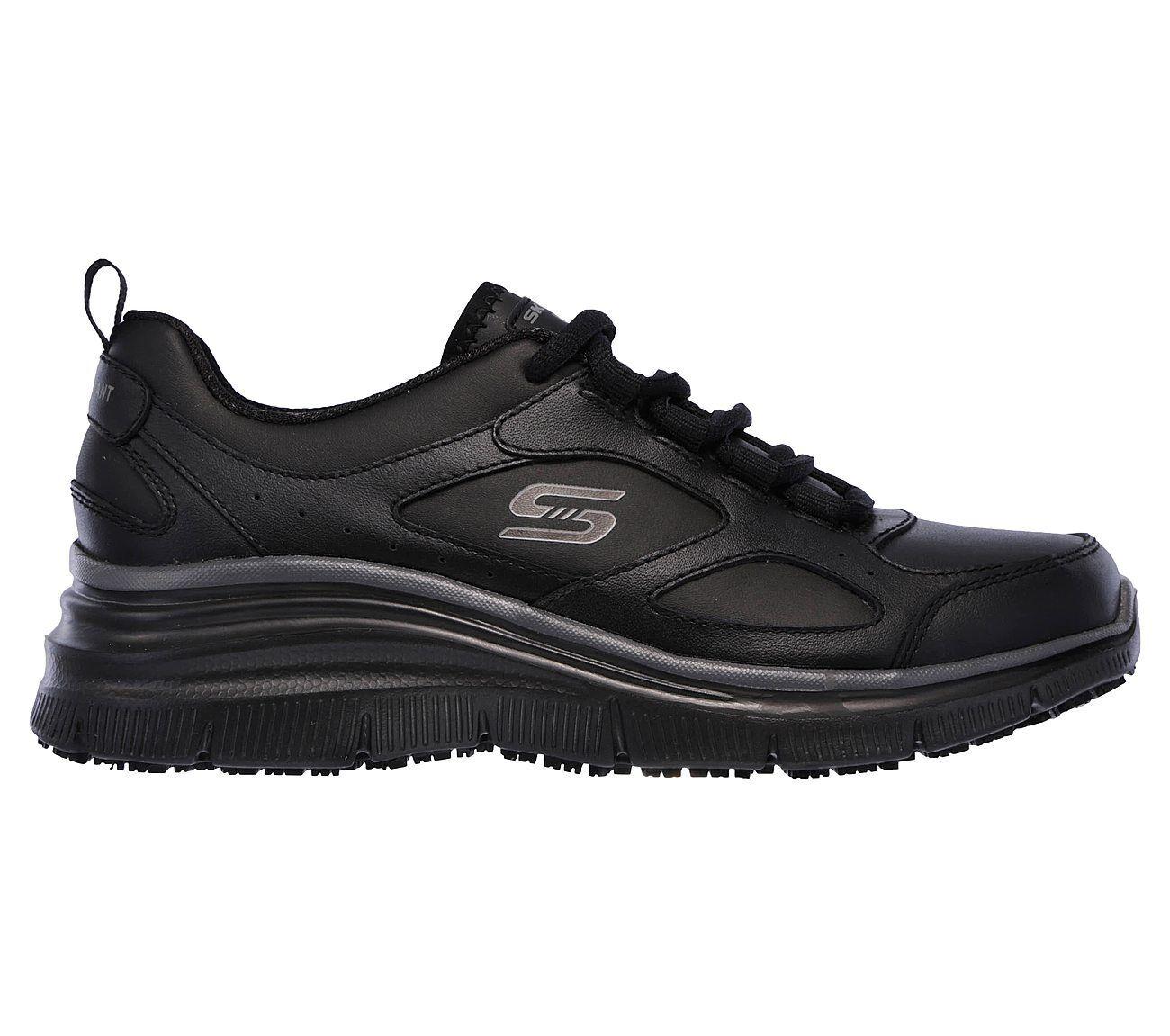 76604 Womens Skechers Work Relaxed Fit Carrolton Slip Slip Slip Resistant shoes Black 9d74f6