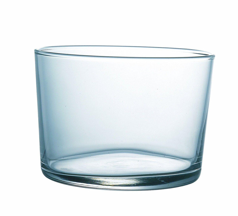 Set Of 6 Chiquito Glasses Shot Bola Arcoroc 23cl Desert Restaurant Party Serving