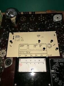Philips-1810-E-Roehre-10-mA-Tube-Valve-auf-Funke-W19-geprueft-BL1542