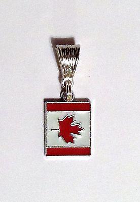 CANADA FLAG CANADIAN European Charm World Championship Olympics Bracelet Pendant