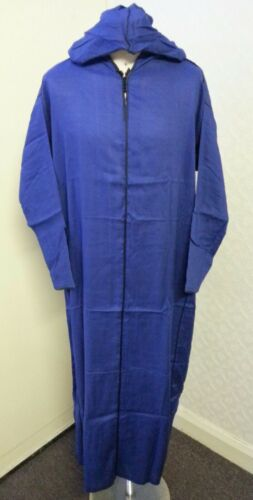 Moroccan hooded thobe.cotton blend material quality.thin summer .sizes 52./&54