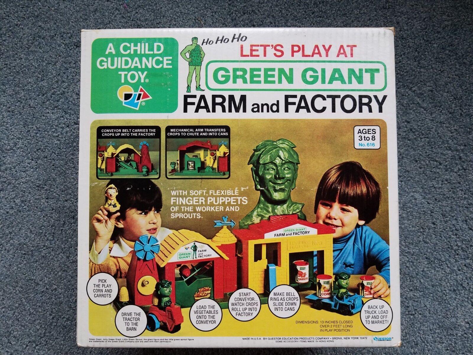 Grne riesige farm und fabrik in original - box