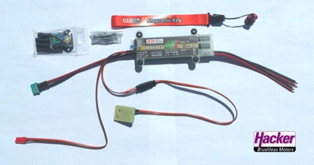 JETI DUPLEX 2.4 GHz MAX BEC 2D Plus EX Spannungsregler Linear 22985466