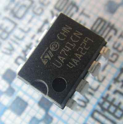 Amplificador Operacional IC St 20PCS UA741CN DIP-8