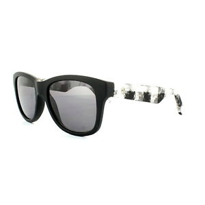 9eaeb605e31f McQ Alexander McQueen Sunglasses 0002 S RIE Y1 Matt Black White ...