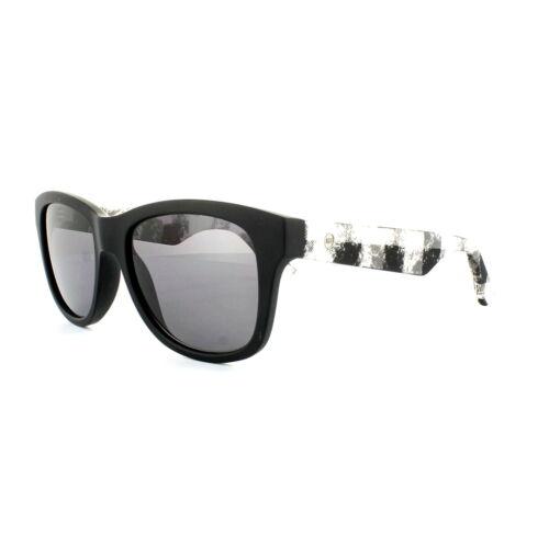 McQ Alexander McQueen Occhiali da sole 0002//s rie y1 matt nero bianco grigio marmo