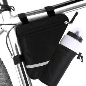 MTB-Mountain-Bike-Bicycle-Front-Frame-Triangle-Bag-Water-Bottle-Holder-Tube-Bag