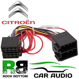 Citroen C5 2001 - 2005 Car Stereo Radio ISO Harness Wiring Cable Lead PC2-32-4