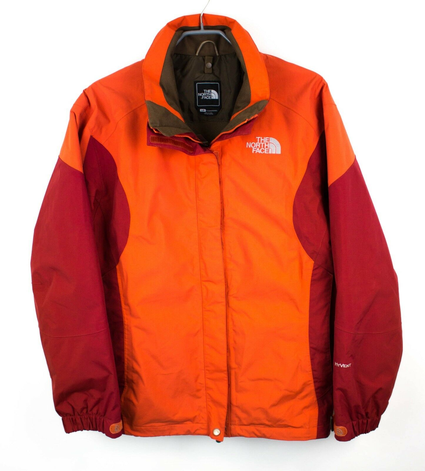 The North Face women Giacca Hyvent Traspirante Cappotto Impermeabile TAGLIA L