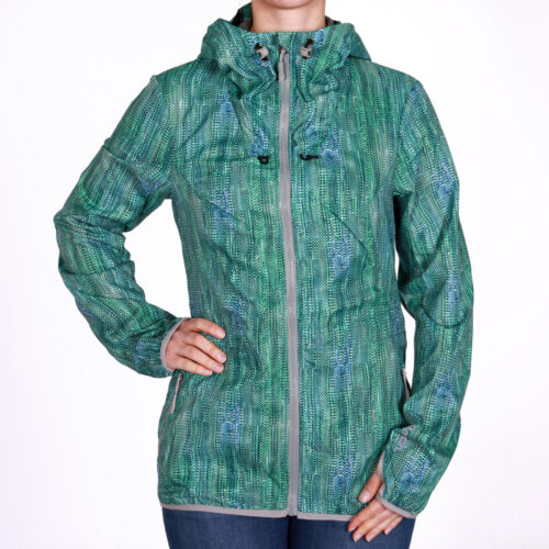 Bench undergo B Hooded Jacket Green Donna Giacca transizione giacca verde