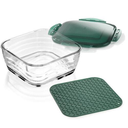 Couvercle /& Silicone Tapis Genius Nicer Dicer chefglasschüssel Incl