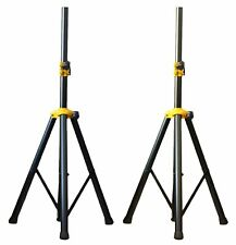 2x Ignite Deluxe Series Heavy Duty Tripod DJ PA Speaker Stands Adjustable - Pair