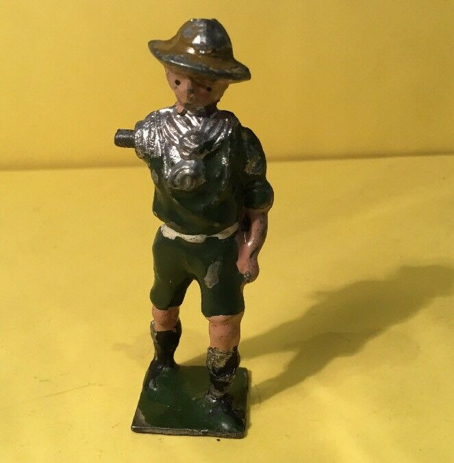 BMC, Boy Scout Figure (my Ref Grey 292) Missing Moveable Arm