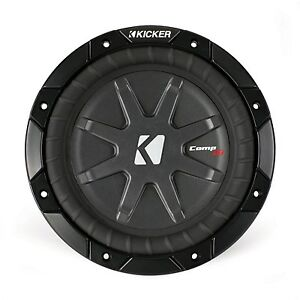 kicker comprt8 2x1ohm 8 zoll 20cm subwoofer chassis. Black Bedroom Furniture Sets. Home Design Ideas