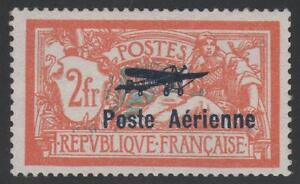 FRANCE-POSTE-AERIENNE-1-034-MERSON-2F-SALON-AVIATION-1927-034-NEUF-xx-SUPERBE-K774