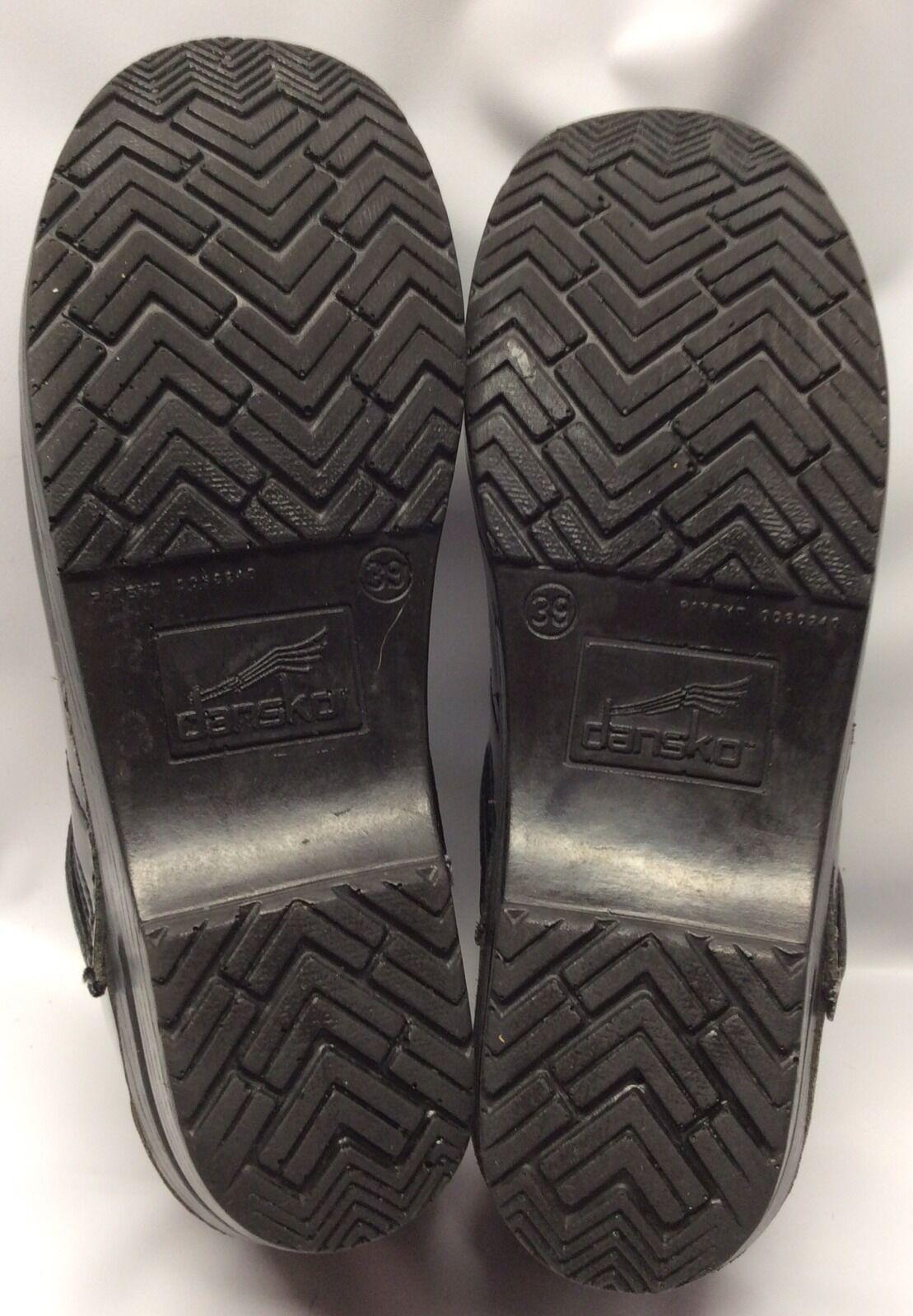 Dansko Professional Professional Professional Clog Patent Leather Größe 39 c444bf