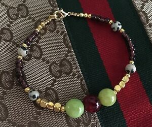 Semi-Precious 8mm Jade Beads  Stretchy  Bracelets with clasp closure