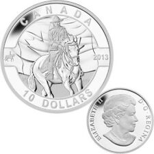 2013 O Canada Series $10 Fine Silver RCMP (TAX Exempt)