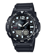 Casio AEQ-100W-1A Black World Time Analog Digital Watch AEQ100 COD Paypal