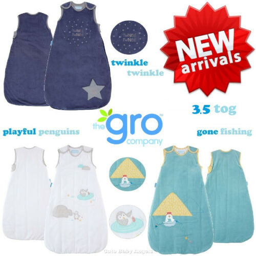 All Sizes New Winter Grobag 3.5 Tog Boy /& Girl Sleeping Bag for Cold Weather