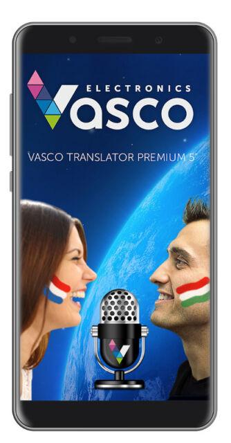 "Vasco Translator Premium 5"": Electronic Voice Translator"