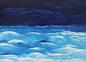 MIDNIGHT-OCEAN-BLUE-Original-Palette-Knife-Oil-Painting-9-034-x12-034-Julia-Garcia-Art