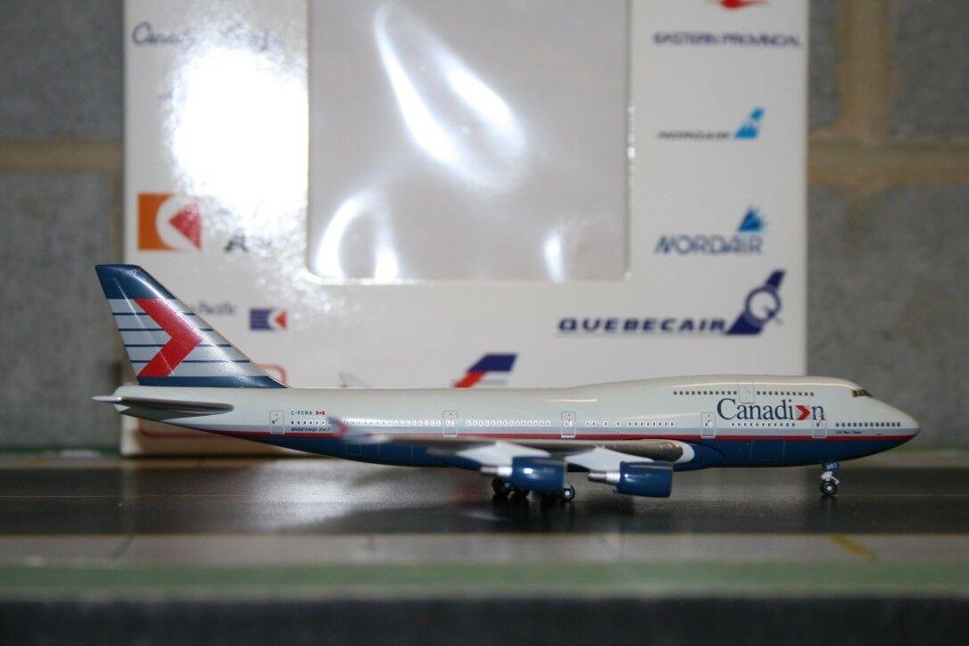 Aeroclassics 1 400 Canadian Airlines Boeing 747-400 C-FCRA (ACCFCRA) Model Plane