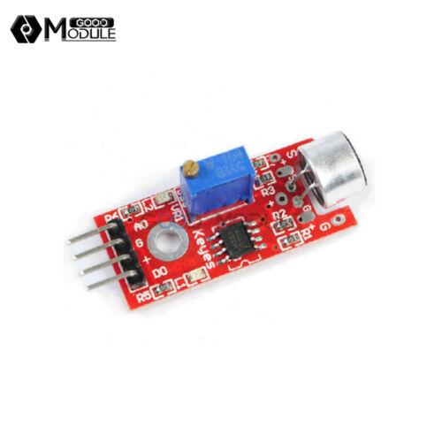 5PCS 4Pin Microphone Sensor AVR PIC High Sensitivity Sound Detection for Arduino