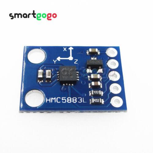 DC3V-5V HMC5883L GY-271 GY-273 Triple Axis Compass Magnetomet Sensor BSG