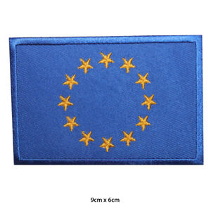 EU-Europe-National-Flag-Embroidered-Patch-Iron-on-Sew-On-Badge-For-Clothes-etc