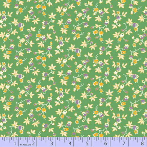 Aunt Grace/'s Apron 1930/'s Reproduction Fabric Callie Green Style 0756//0114