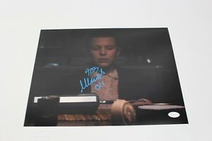 Millie-Bobby-Brown-SIGNED-STRANGER-THINGS-Eleven-11x14-Photo-JSA-AUTOGRAPH-Z2