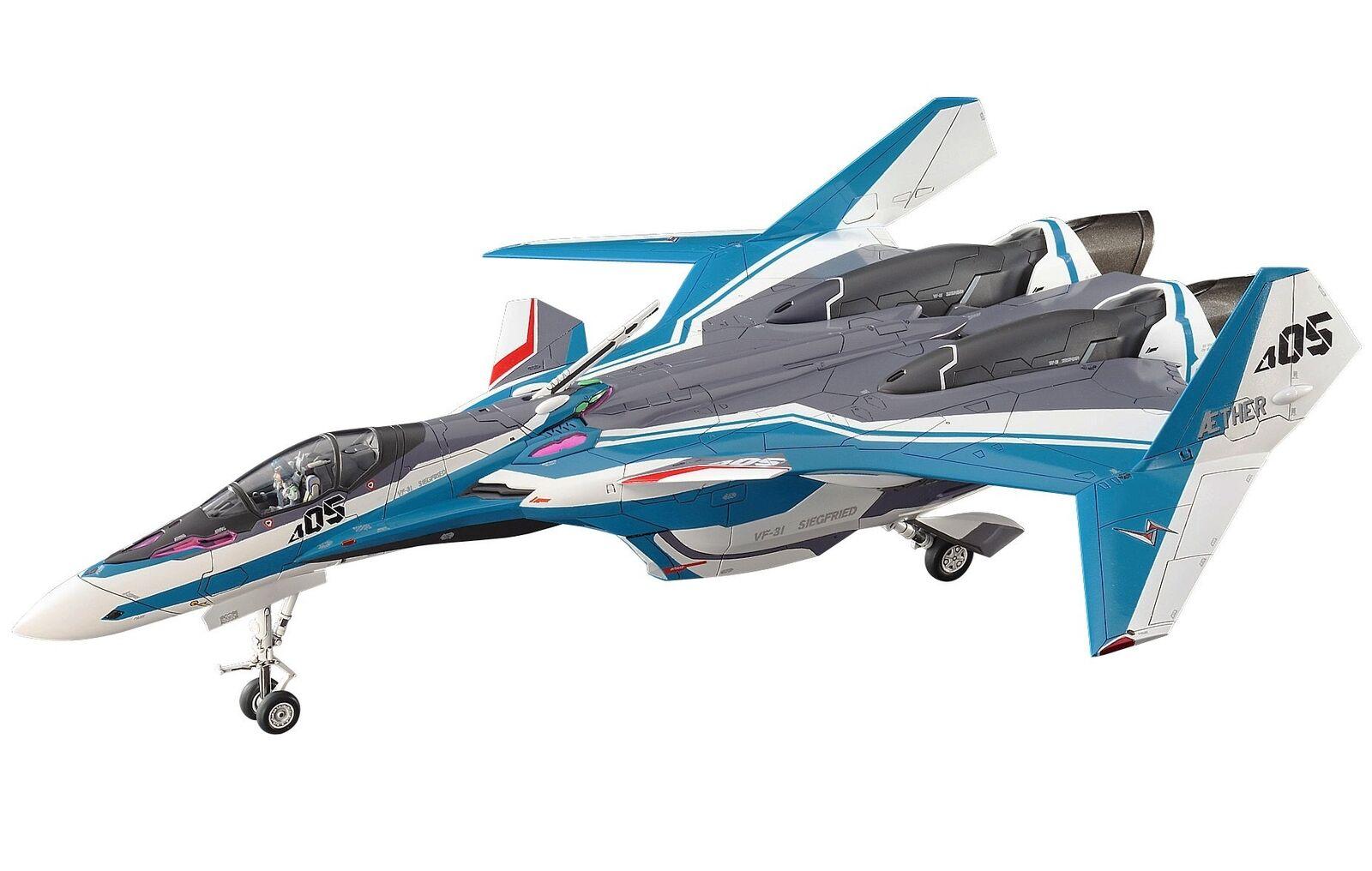 Hasegawa Macross Series  Macross Delta  VF-31J Siegfried Hayate 1 72